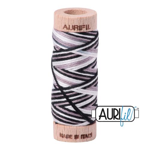 Aurifil Cotton Embroidery Floss, 4652 Licorice Twist