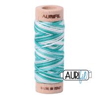 Aurifil Cotton Embroidery Floss, 4654 Turquoise Foam