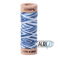 Aurifil Cotton Embroidery Floss, 4655 Storm At Sea