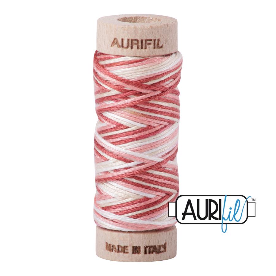 Aurifil Cotton Embroidery Floss, 4656 Cinnamon Sugar