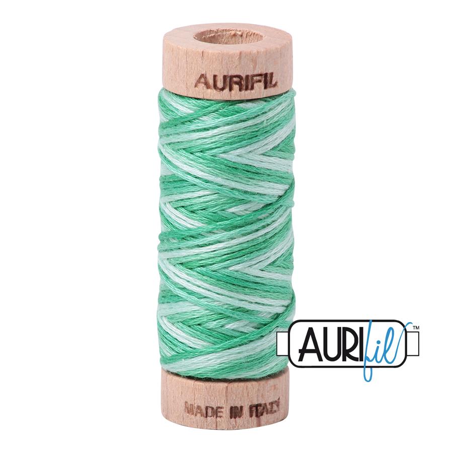 Aurifil Cotton Embroidery Floss, 4661 Mint Julep