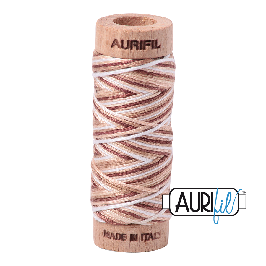 Aurifil Cotton Embroidery Floss, 4666 Biscotti