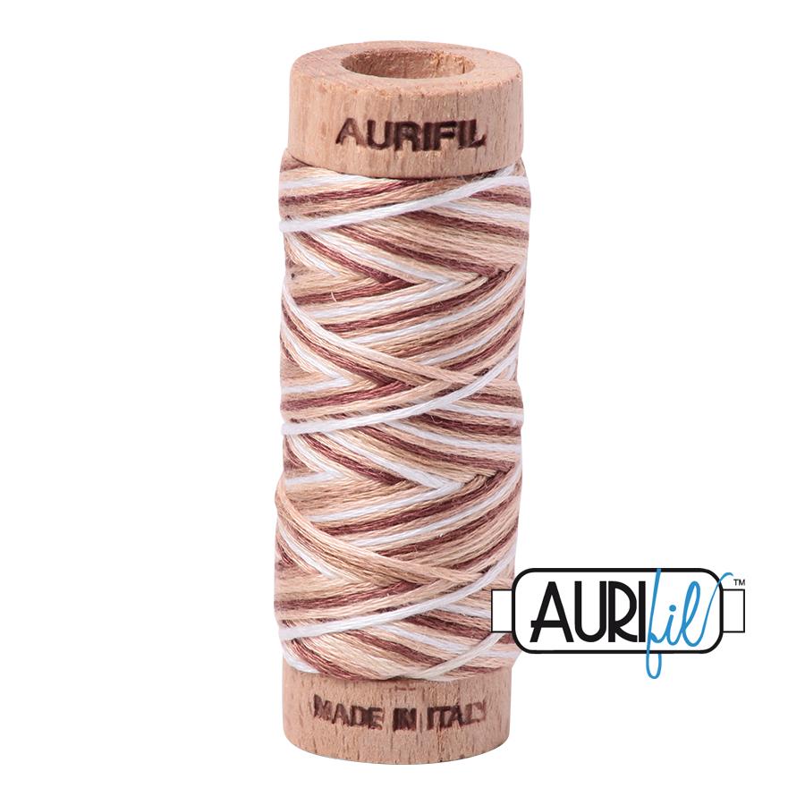 Aurifil Cotton Embroidery Floss, 4666 Biscotti