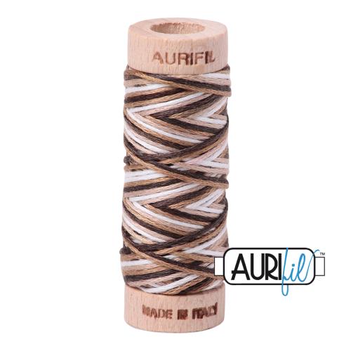 Aurifil Cotton Embroidery Floss, 4667 Nutty Nougat