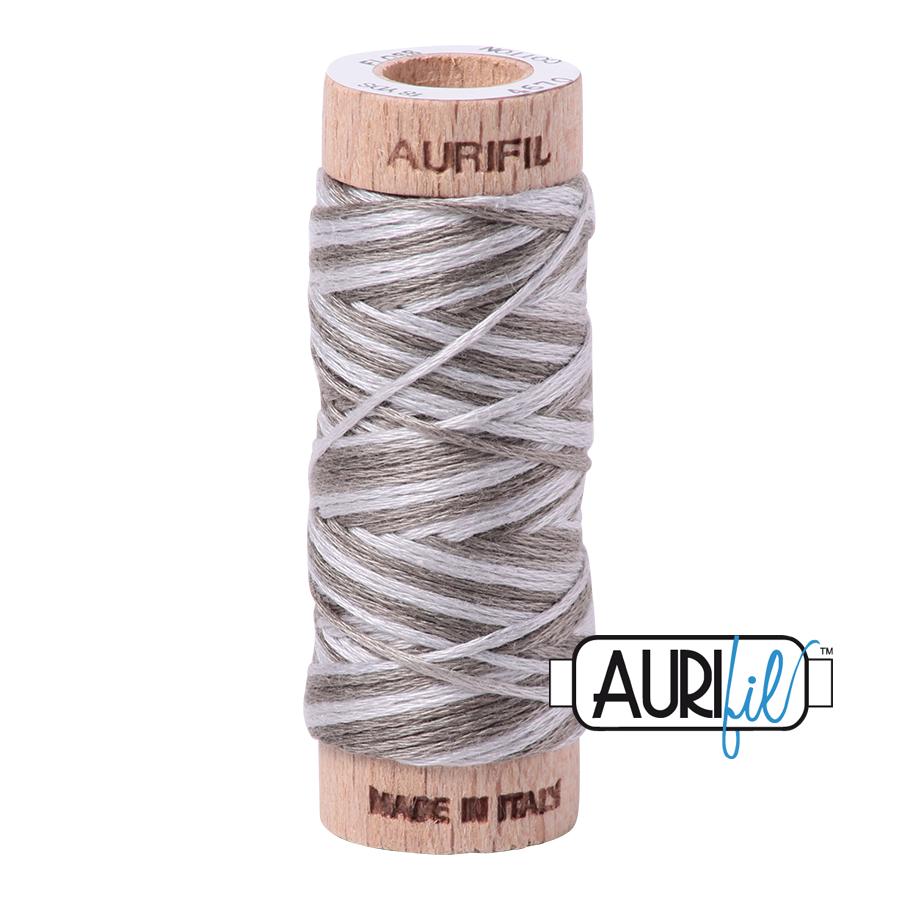 Aurifil Cotton Embroidery Floss, 4670 Silver Fox