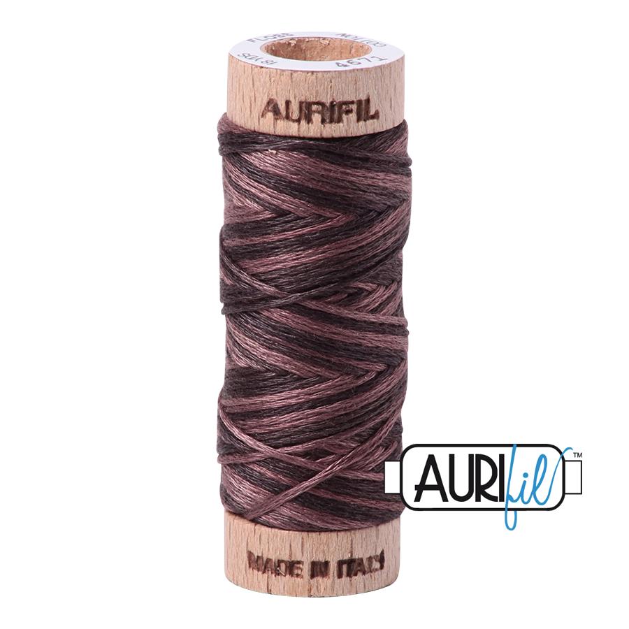 Aurifil Cotton Embroidery Floss, 4671 Mocha Mousse