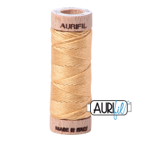Aurifil Cotton Embroidery Floss, 5001 Ocher Yellow