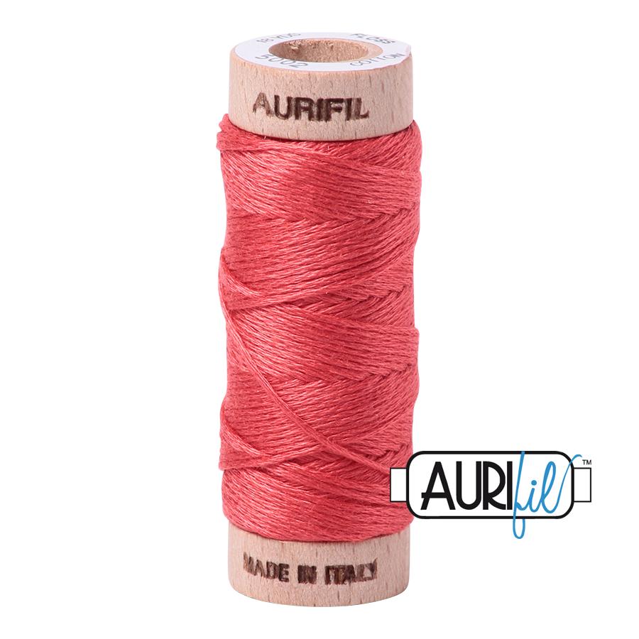Aurifil Cotton Embroidery Floss, 5002 Medium Red