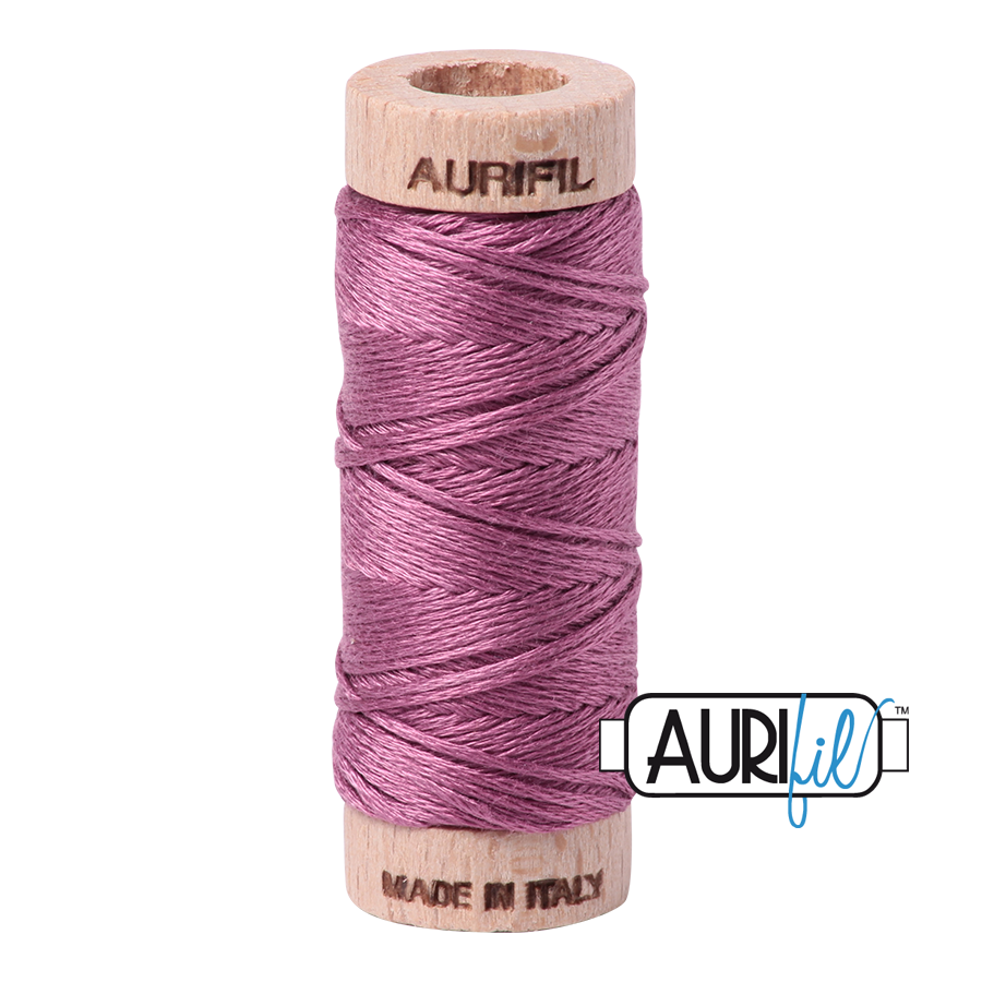 Aurifil Cotton Embroidery Floss, 5003 Wine