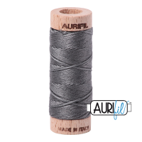 Aurifil Cotton Embroidery Floss, 5004 Grey Smoke
