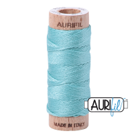 Aurifil Cotton Embroidery Floss, 5006 Light Turquoise