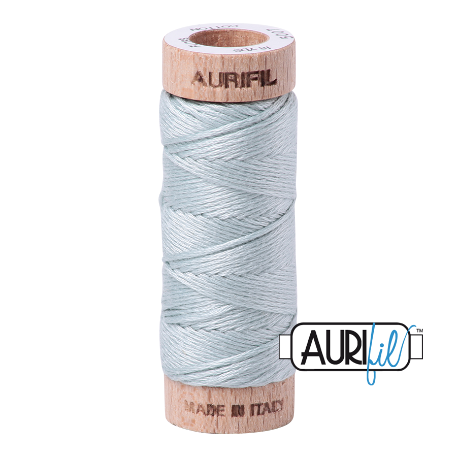 Aurifil Cotton Embroidery Floss, 5007 Light Grey Blue