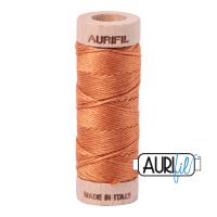 Aurifil Cotton Embroidery Floss, 5009 Medium Orange