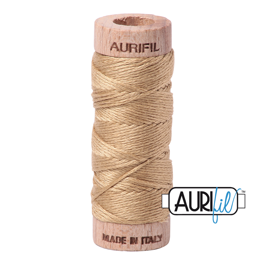 Aurifil Cotton Embroidery Floss, 5010 Blond Beige