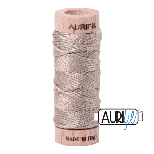 Aurifil Cotton Embroidery Floss, 5011 Rope Beige