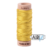 Aurifil Cotton Embroidery Floss, 5015 Gold Yellow