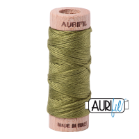 Aurifil Cotton Embroidery Floss, 5016 Olive Green
