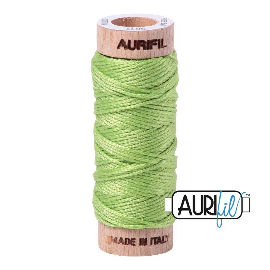 Aurifil Cotton Embroidery Floss, 5017 Shining Green