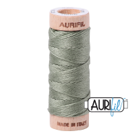 Aurifil Cotton Embroidery Floss, 5019 Military Green