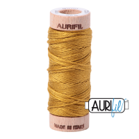 Aurifil Cotton Embroidery Floss, 5022 Mustard