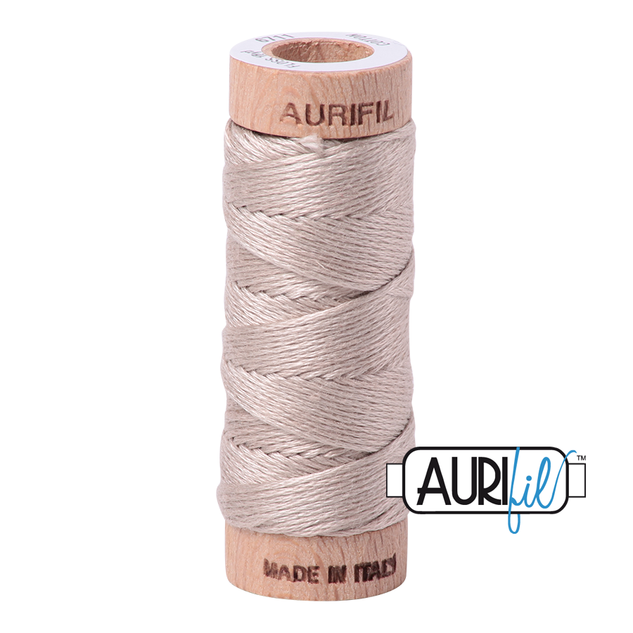 Aurifil Cotton Embroidery Floss, 6711 Pewter