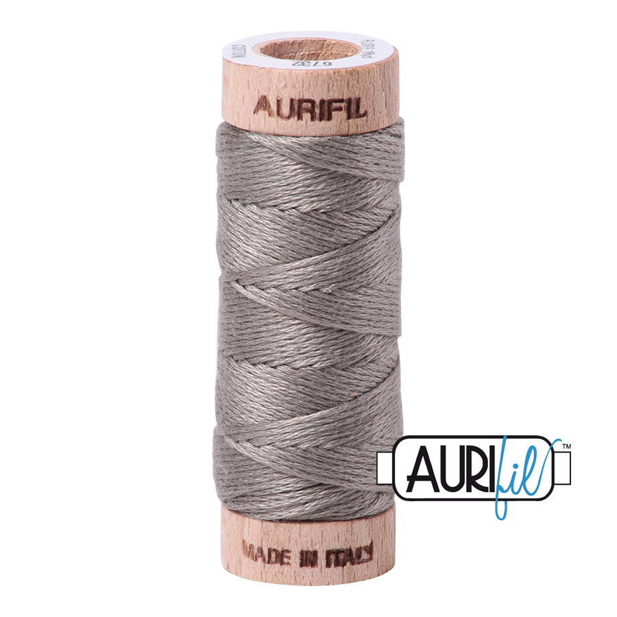 Aurifil Cotton Embroidery Floss, 6732 Earl Gray