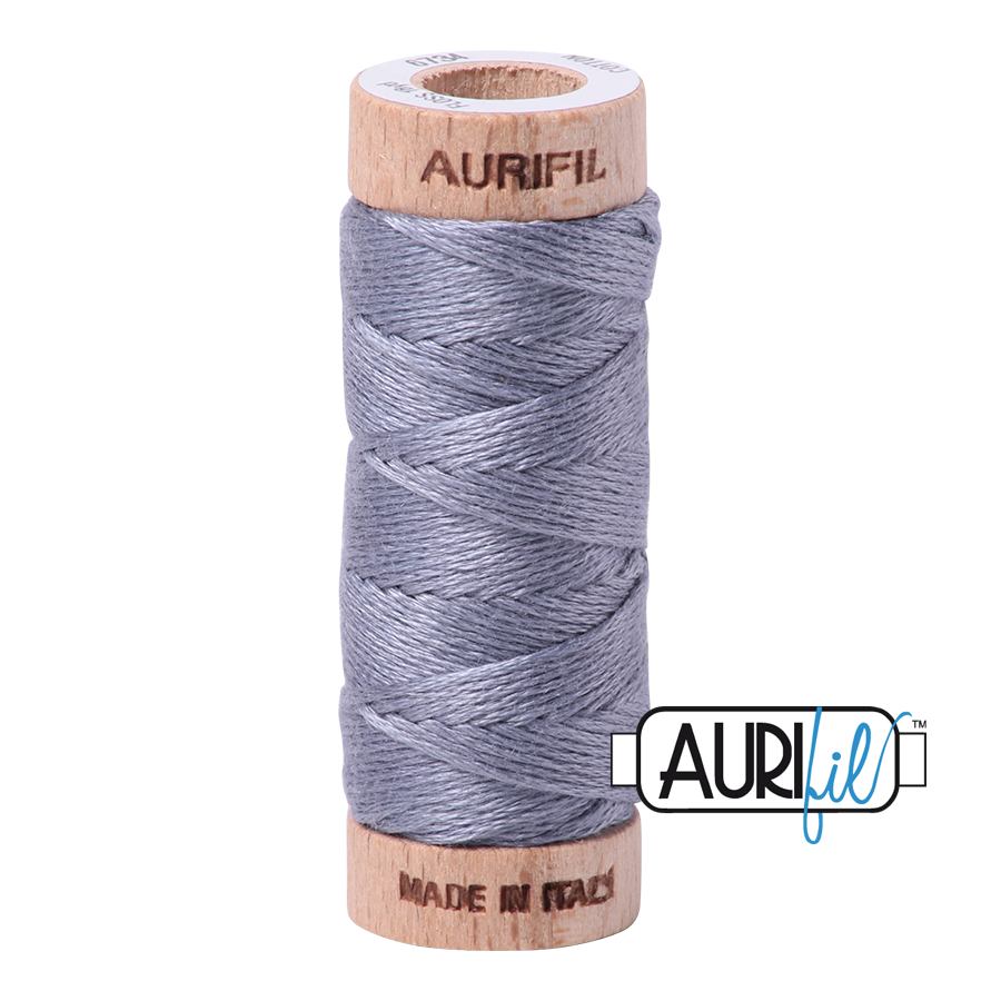 Aurifil Cotton Embroidery Floss, 6734 Swallow