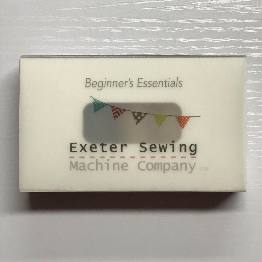 Beginner's Essentials by Exeter Sewing Machine Company