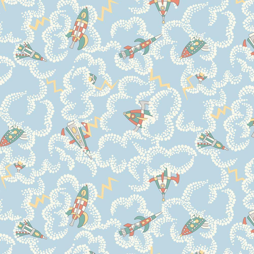 Liberty London Fabrics - Adventures in the Sky - Rocket Dance X