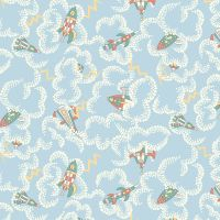 Liberty London Fabrics - Adventures in the Sky - Rocket Dance X