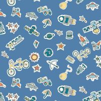 Liberty London Fabrics - Adventures in the Sky - Treasures In The Sky X