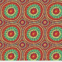 Kaffe Fassett - Backing Fabric - Mandala - Red - QBGP003.2REDX