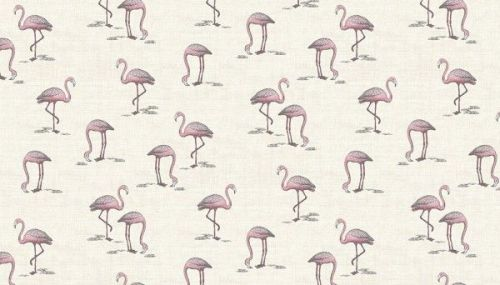 Makower -Flamingo - 2075/Q Cream