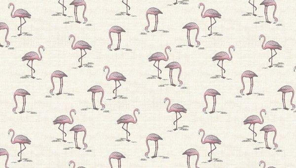 Makower -Flamingo - 2075/Q Cream
