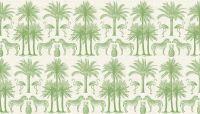 Makower -Palm - 2073/G Green