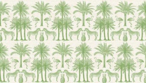 Makower -Palm - 2073/G Green