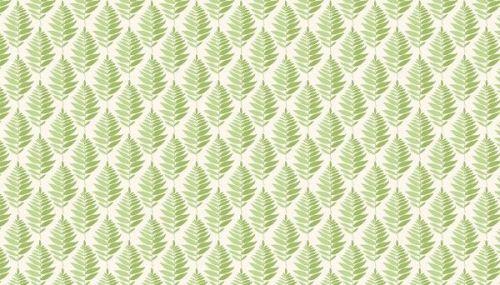 Makower -Fern Geo - 2078/G Green