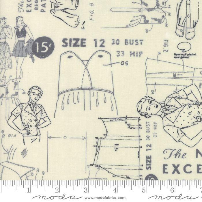 Moda - Modern BG More Paper  - 1672- 11