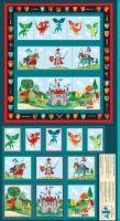 Makower - Dragonheart Pocket Panel