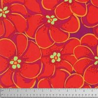 Kaffe Fassett Collective - Elephant Flower - Orange - PWBM056ORANG
