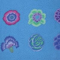 Kaffe Fassett Collective - Corsage - Blue - PWGP149BLUEX