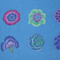 Kaffe Fassett Collective - Corsage - Blue - PWGP149.BLUEX