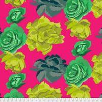 Rose Clouds - Magenta - PWGP164MAGEN - Kaffe Fassett Collective