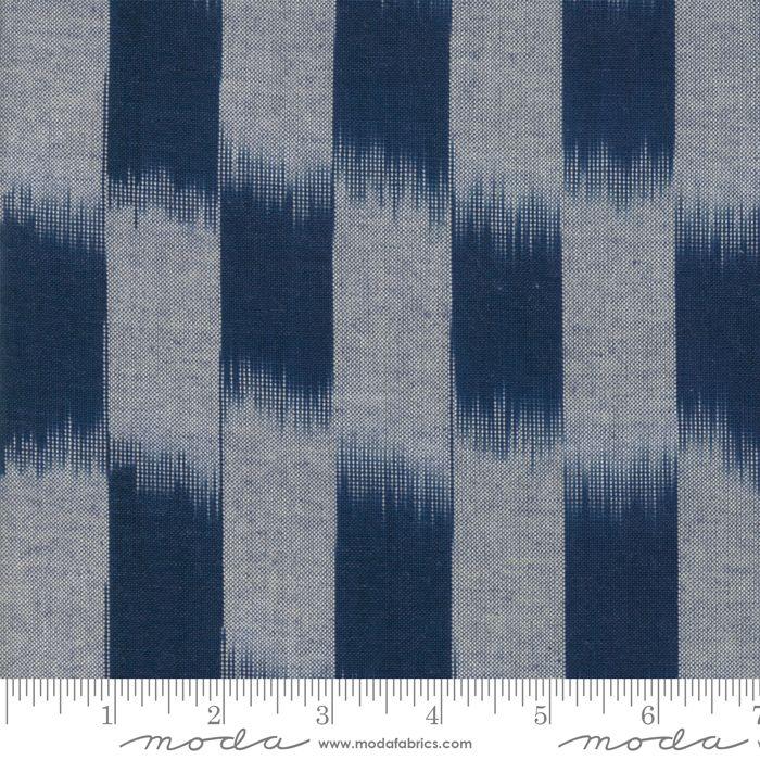 Moda - Boro Wovens - Indigo No. 12560 17 (Dark Blue)