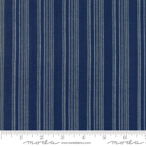 Moda - Boro Wovens - Indigo No. 12560 19 (Dark Blue)