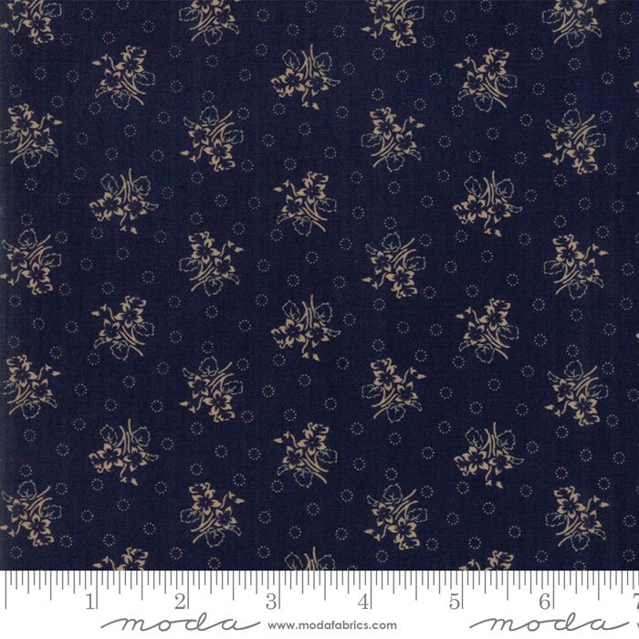 Moda - Hickory Road - No. 38062 28 (Indigo Tan)