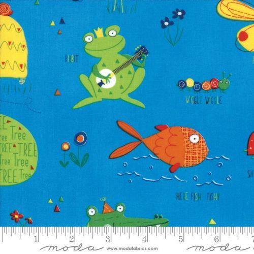 Moda - Later Alligator - Blue Sky - No. 17980 17 (Light Blue)