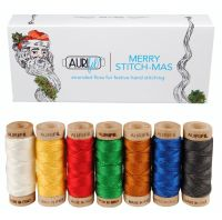 Aurifil Cotton Embroidery Floss - 'Merry Stitch-mas'
