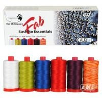 Aurifil Cotton 12wt, 'Fab Sashiko Essentials' by the Shibaguyz