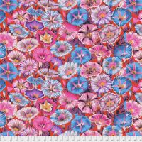 Kaffe Fassett Collective - Variegated Morning Glory - Red - PWPJ098.RED